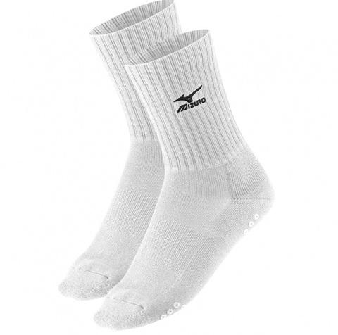 Волейбольные носки Mizuno Volley Sock Medium белые