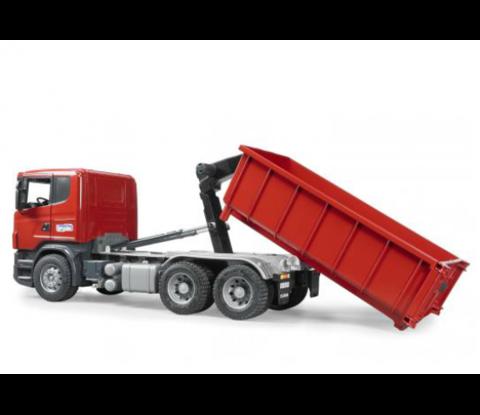 Bruder: Контейнеровоз Scania с снимающимся контейнером, 03-522