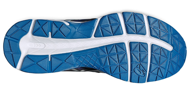 Мужские беговые кроссовки Асикс Gel-Contend 3 (T5F4N 5042) темно-синие фото
