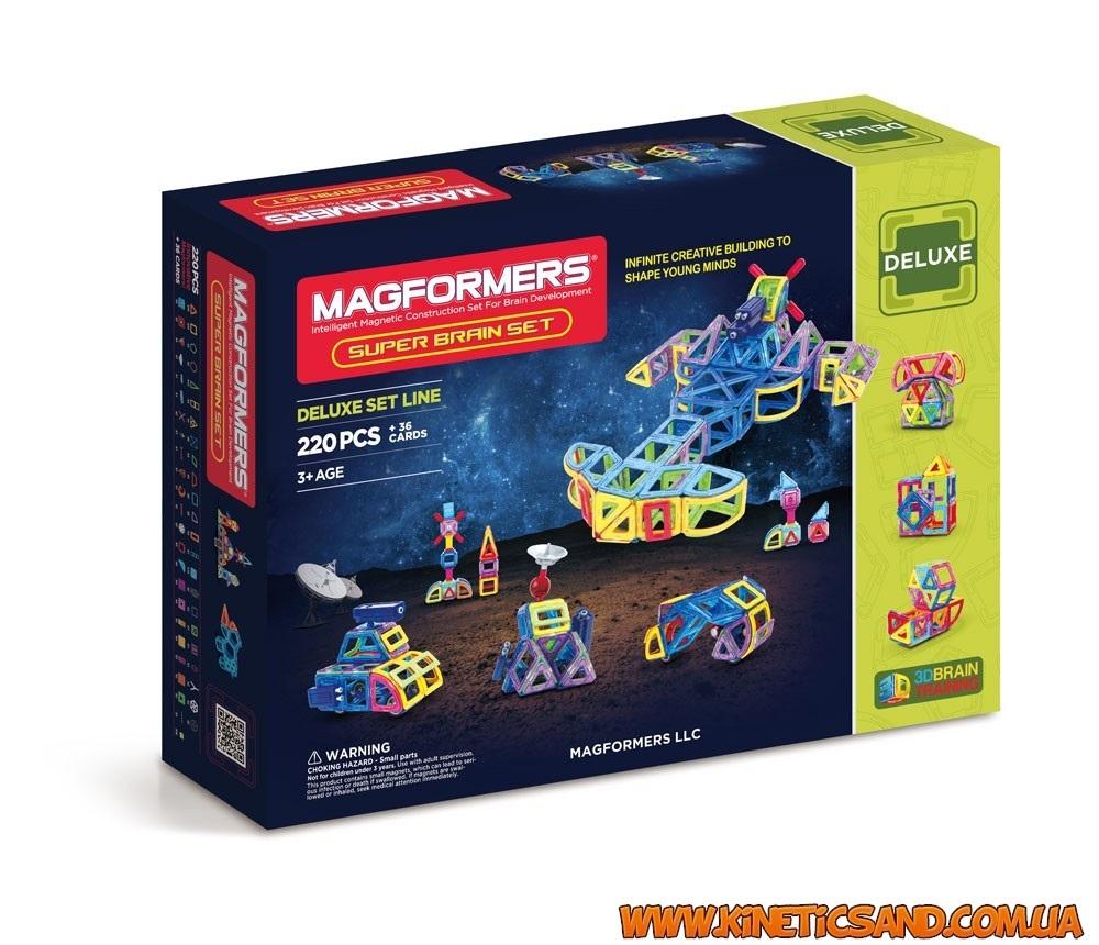 Magformers Супер умный набор, 220 эл.