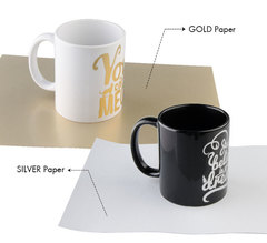 Трансферная бумага Forever Laser Multi-Trans Silver формат А3 - 1 лист
