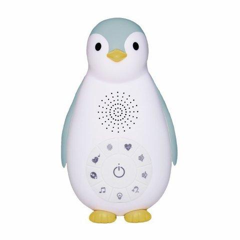 Беспроводная колонка+проигрыватель+ночник пингвинёнок Зои 0+ Синий