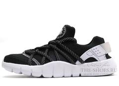 Кроссовки Мужские Nike Air Huarache NM Black White