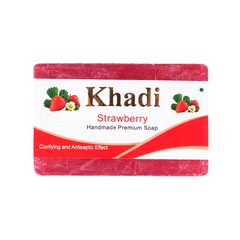 Мыло Khadi (Strawberry)