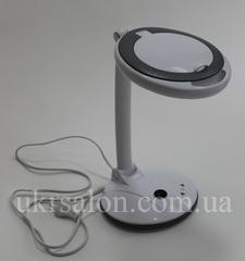 Лампа-лупа 2028F LED 3+12D с регулировкой яркости