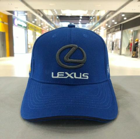 Бейсболка синяя Lexus