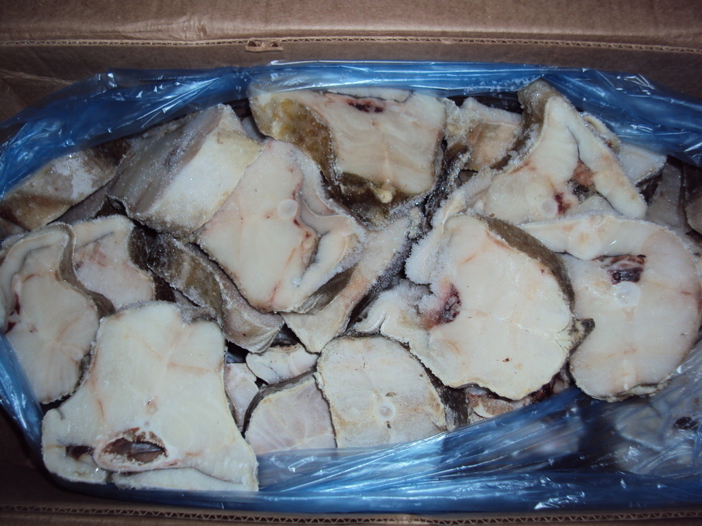 Стейк трески сухой заморозки - коробка 10 кг, г. Мурманск (кг)