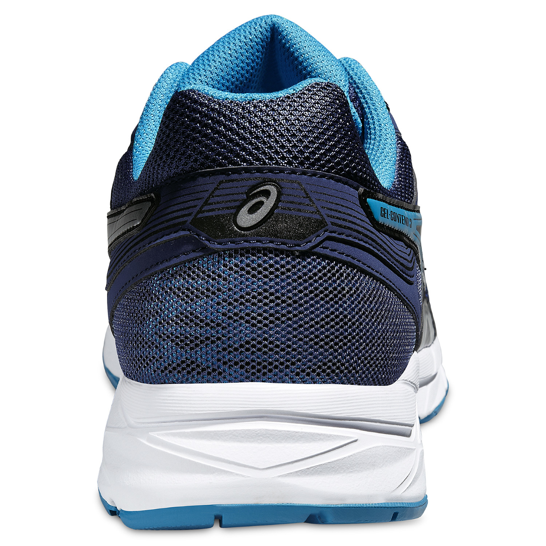 Мужские спортивные кроссовки для бега Asics Gel-Contend 3 (T5F4N 5042) темно-синие фото