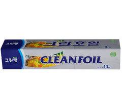 Алюминиевая фольга Clean Wrap, 25см*10м