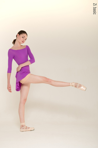 The Skirt + Shorts Stretch (violet) New shade