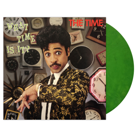The Time ‎/ What Time Is It? (Coloured Vinyl)(LP)