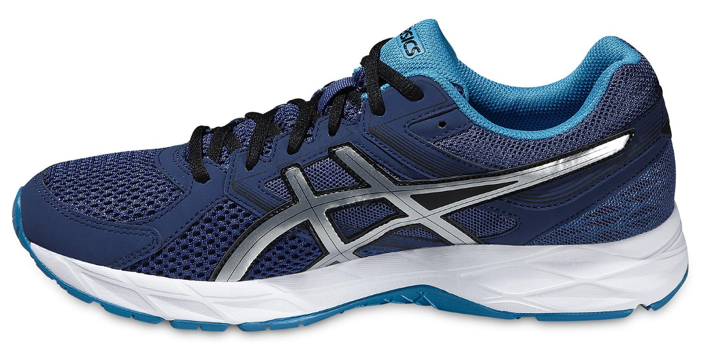 Мужская беговая обувь Asics Gel-Contend 3 (T5F4N 5042) темно-синие фото