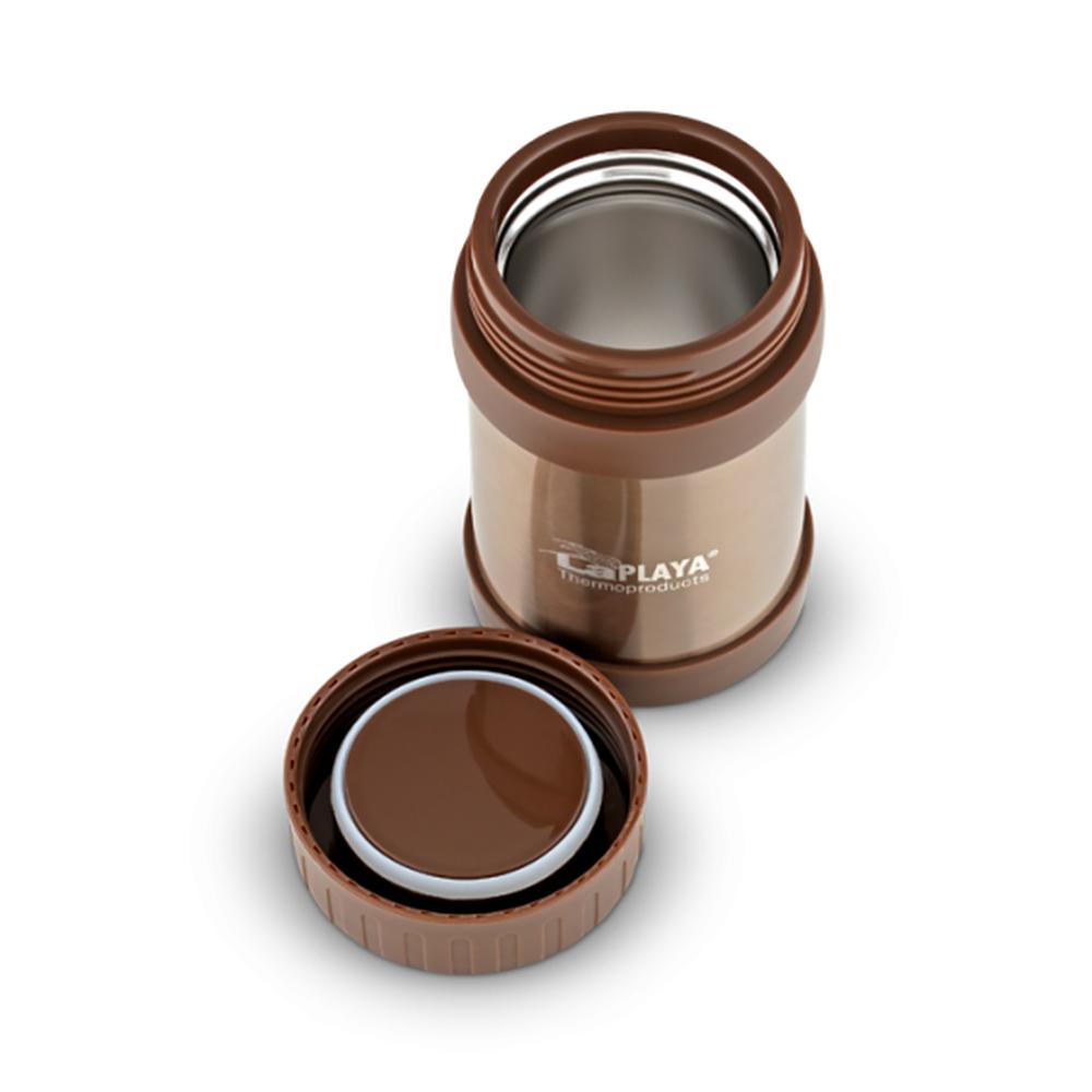 Термос для еды LaPlaya Food Container (0,5) коричневый