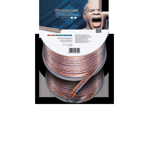 Oehlbach Speaker Wire SP-40 clear 20m, кабель акустический