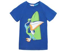 702-18 футболка детская, синяя