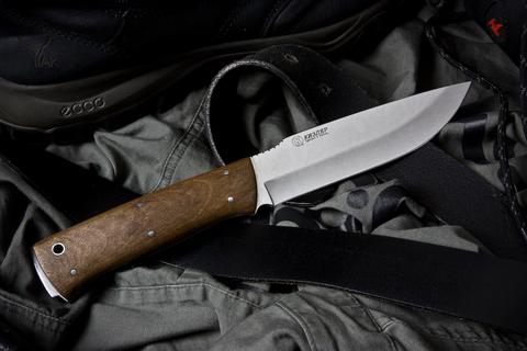 Туристический нож Стриж Полированный Орех