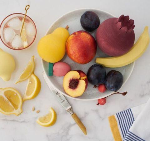 Набор деревянных фруктов