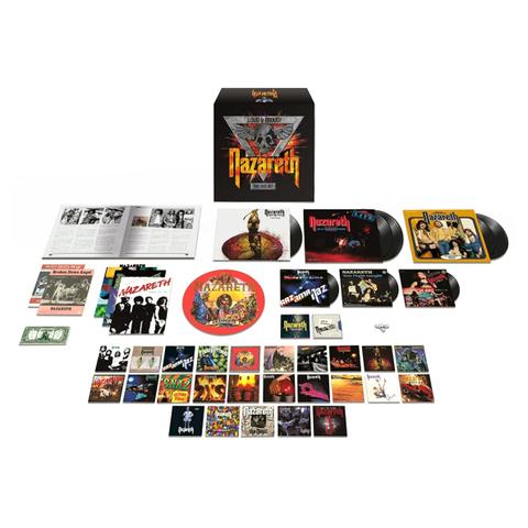 Nazareth Loud Amp Proud The Box Set 32cd 6lp 3x7 Quot Vinyl