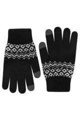 Перчатки для сенсорных экранов Xiaomi (черные)