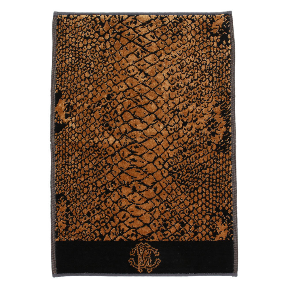 Полотенце 95х150 Roberto Cavalli Pitone коричневое