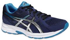 Мужские беговые кроссовки Asics Gel-Contend 3 (T5F4N 5042) темно-синие фото