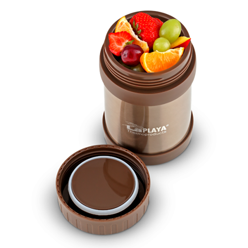 Термос LaPlaya Food Container (0.5) коричневый
