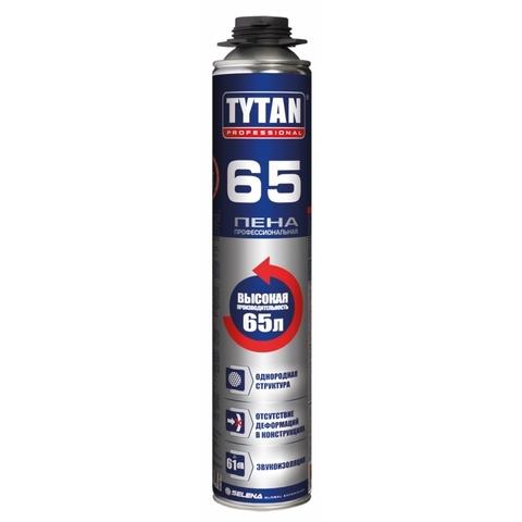 Пена пистолетная Tytan (Титан) 65 Профи О2 750мл