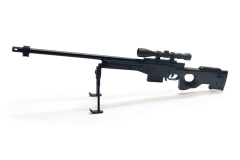AWP sniper rifle scale 1:4