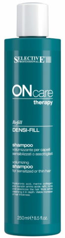 Шампунь филлер для ухода за поврежденными волосами,Selective Oncare Densify ,1000 мл.