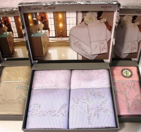 Набор салфеток BAMBU  БАМБУ в размере 30х50  Maison Dor Турция