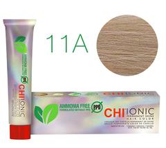 11A CHI Ionic (Очень светлый пепельный блондин) - стойкая БЕЗАММИАЧНАЯ краска для волос 90мл