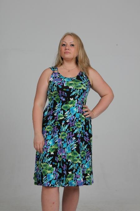 Выкройка платья-сарафана