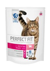 PERFECT FIT полноценный корм для взрослых кошек с говядиной