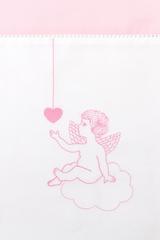 Чехол для бампера Angels розовый от Luxberry