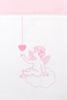 Чехол для бампера 195x45 Luxberry Angels розовый