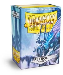Dragon Shield - Серовато-синие матовые протекторы 100 штук