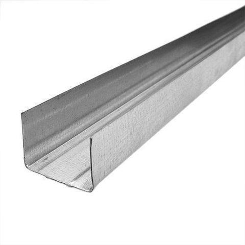Потолочный профиль направляющий 75х40х3000 мм 0,45 мм