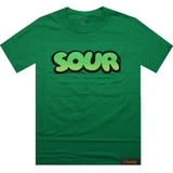 Зеленая футболка sour фото 1