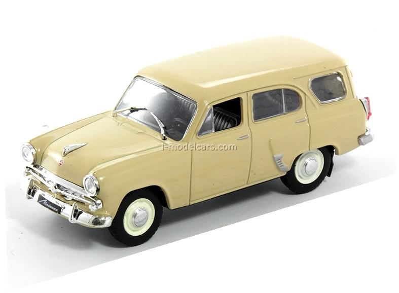 Moskvich-423N yellow 1:43 DeAgostini Auto Legends USSR #20