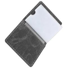 Визитница WENGER Arizona, цвет черный, воловья кожа, 8×1,5×10 см