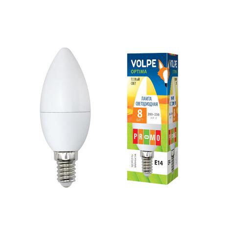 LED-C37-8W/WW/E14/FR/O Лампа светодиодная. Форма