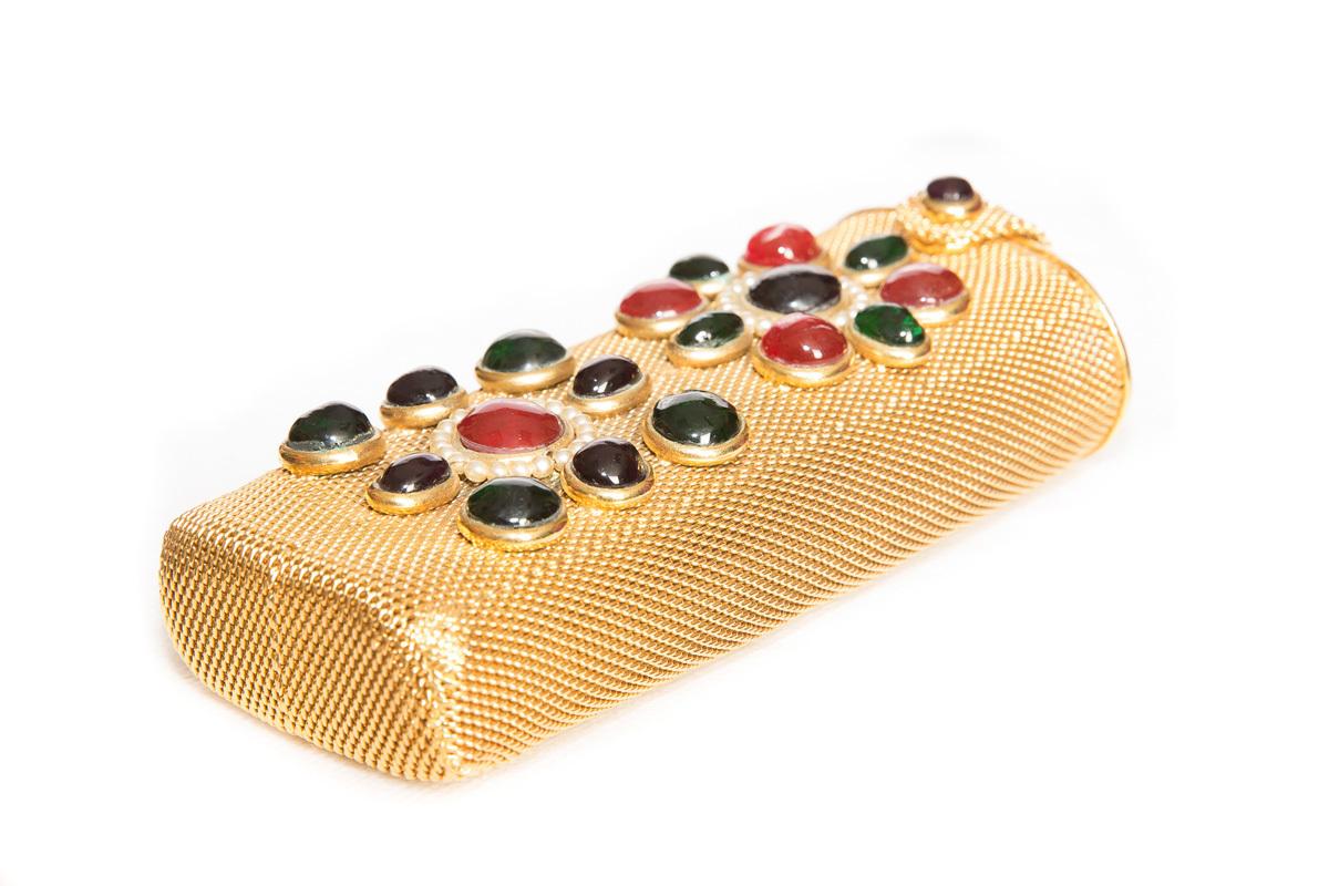 Эксклюзивная сумочка-клатч с Грипуа от Chanel