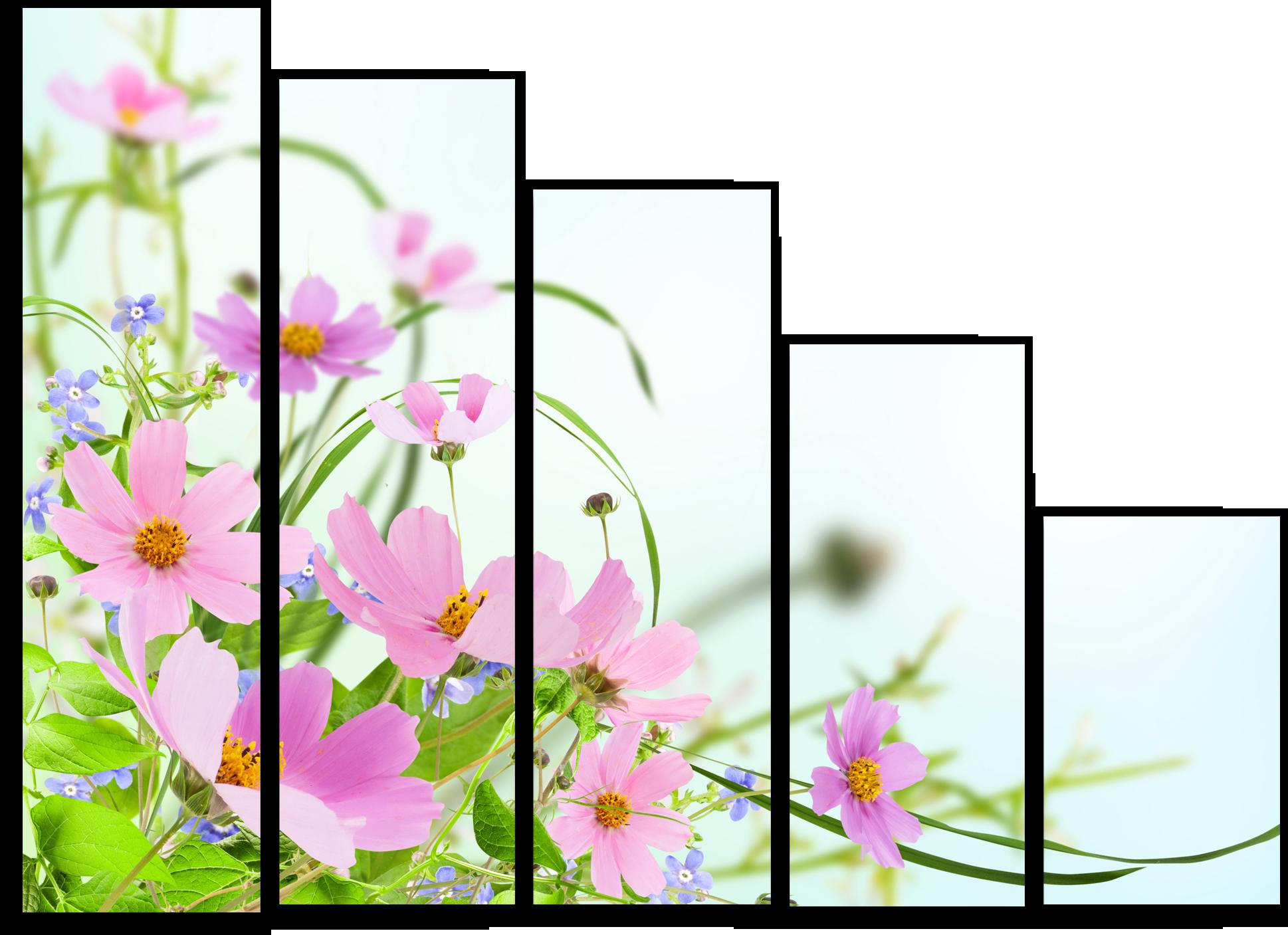 "Цветы Модульная картина ""Летние цветы"" М716.png"