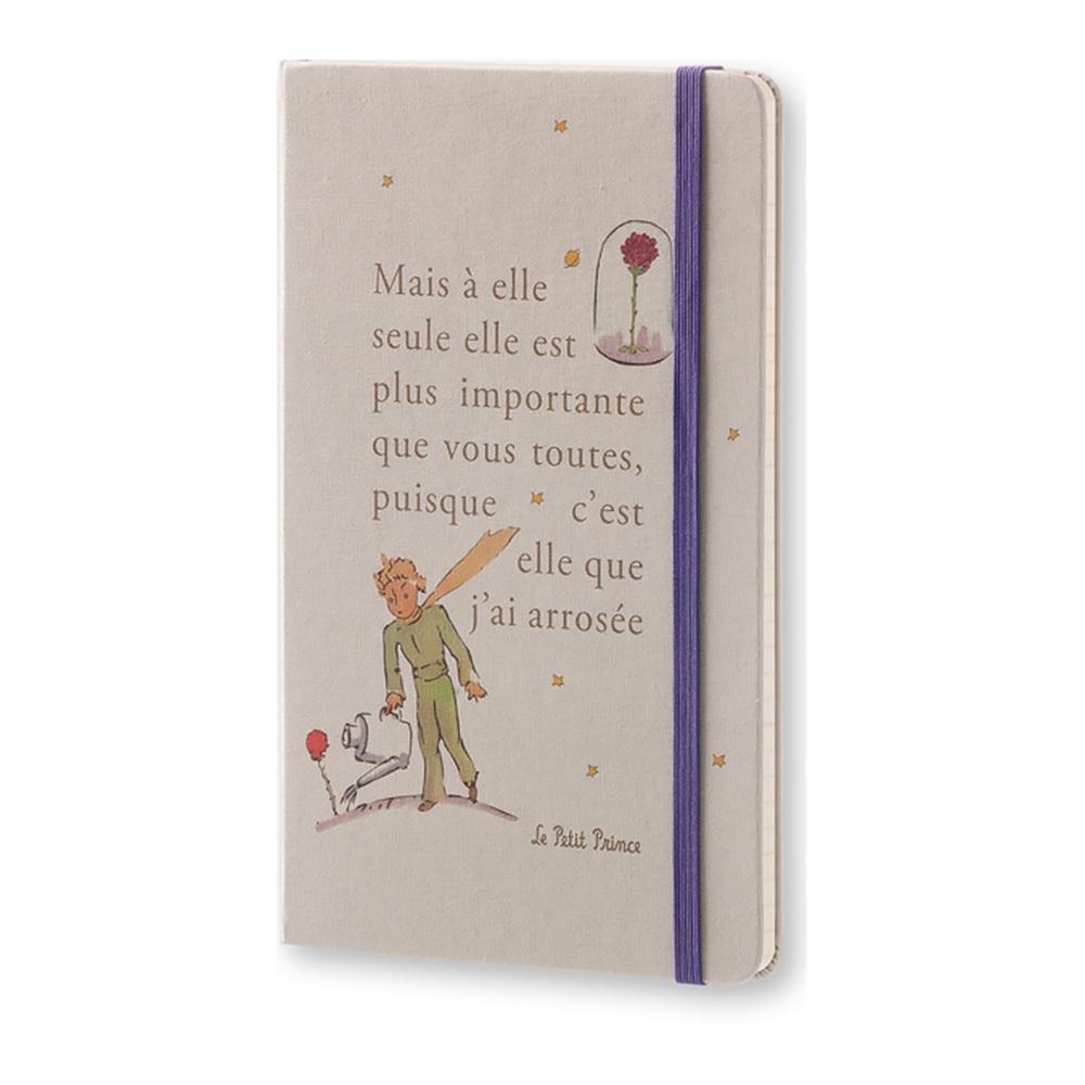 Еженедельник Moleskine Le Petit Prince Wknt LG, цвет серый
