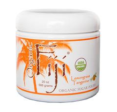 """Органический кокосовый скраб для лица и тела на основе тросникового сахара """"Лемонграсс и Мандарин"""", Organic Fiji"""