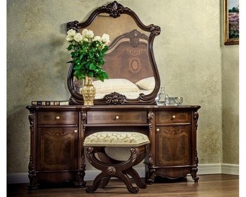Туалетный столик ИОЛАНТА с пуфиком и зеркалом