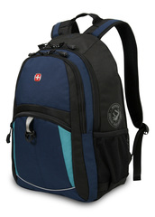 Рюкзак WENGER, цвет синий/черный/бирюзовый (3191203408)