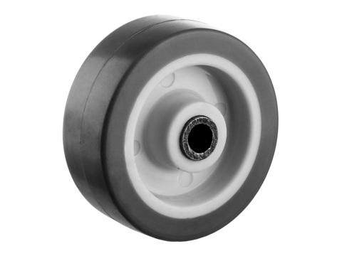 Колесо d=50 мм, г/п 40 кг, термопластич. резина/полипропилен, ЗУБР Профессионал