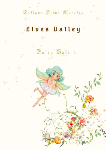 Elves Valley. Fairy tale