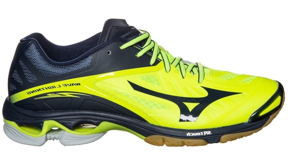 Мужские волейбольные кроссовки Mizuno Wave Lightning Z2 (V1GA1600 44) желтые